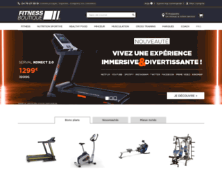 fitnessboutique.com screenshot