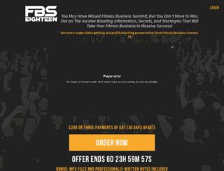 fitnessbusinesssummit.com screenshot
