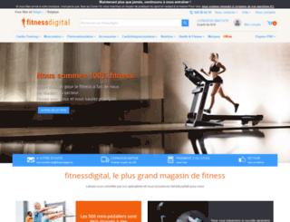 fitnessdigital.be screenshot