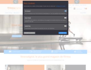 fitnessdigital.fr screenshot