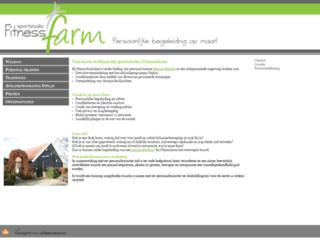 fitnessfarm.nl screenshot
