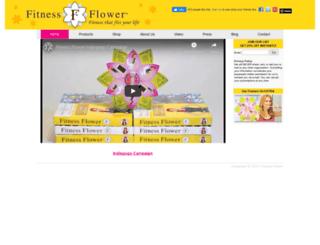 fitnessflower.com screenshot