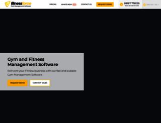 fitnessforce.com screenshot