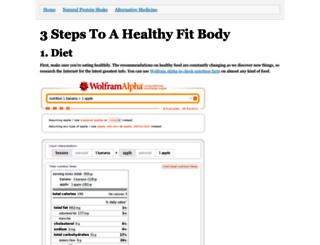 fitnesshelp.neocities.org screenshot