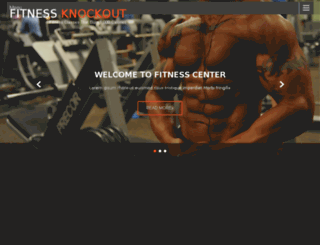 fitnessknockout.club screenshot