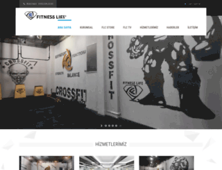 fitnesslifeclub.com.tr screenshot
