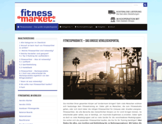 fitnessmarket.de screenshot