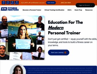 fitnessmentors.com screenshot