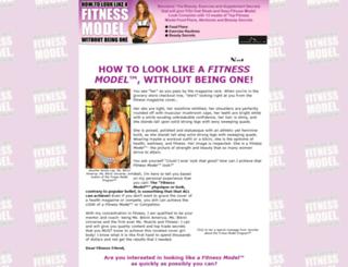 fitnessmodelprogram.com screenshot