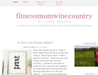 fitnessmomwinecountry.com screenshot