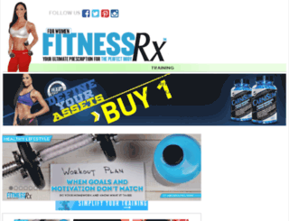 fitnessrxmag.com screenshot