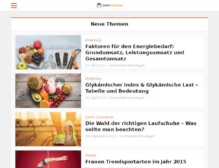 fitnessschmiede.de screenshot