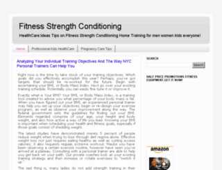 fitnessstrengthconditioning.blogspot.com screenshot