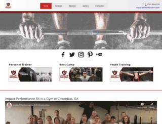fitnesstrainingcolumbus.com screenshot