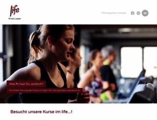 fitnesstreff-balve.de screenshot
