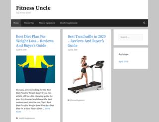 fitnessuncle.com screenshot