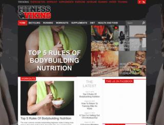 fitnessviking.com screenshot