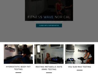 fitnesswavenorcal.com screenshot