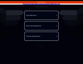 fitnessworld.co.za screenshot