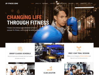 fitnesszone.com.bn screenshot
