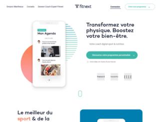 fitnext.com screenshot