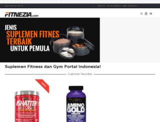 fitnezia.com screenshot