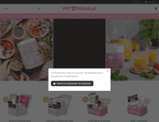 fitnfemale.com screenshot