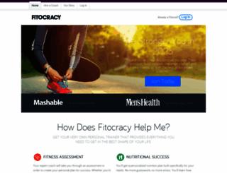 fitocracy.com screenshot