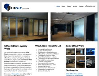 fitout.com.au screenshot