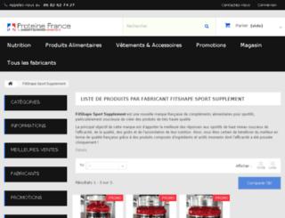 fitshape.fr screenshot