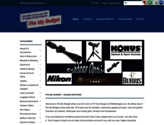 fitsmybudget.com screenshot