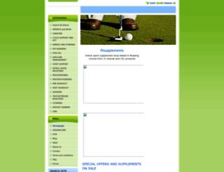 fitsupplements.webnode.cz screenshot