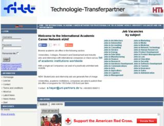 fitt.euni.de screenshot