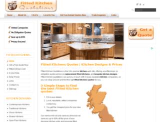 fittedkitchenquotations.co.uk screenshot