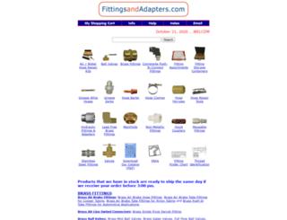 fittingsandadapters.com screenshot