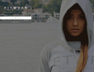 fitwear.co.nz screenshot