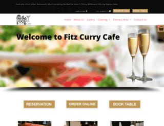 fitzcurrycafe.com.au screenshot