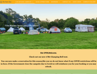 five-wyches-farm.co.uk screenshot