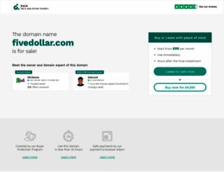 fivedollar.com screenshot