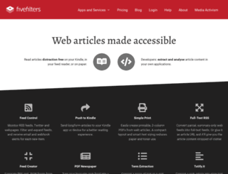 fivefilters.org screenshot