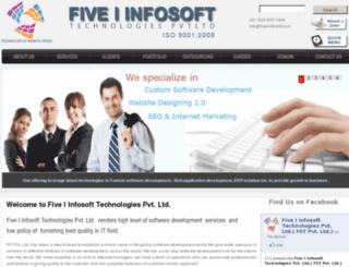 fiveiinfosoft.com screenshot