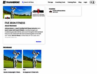 fiveironfitness.com screenshot