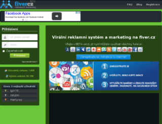 fiver.cz screenshot