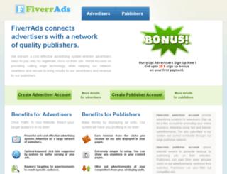 fiverrads.com screenshot
