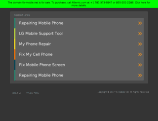 fix-mobile.net screenshot