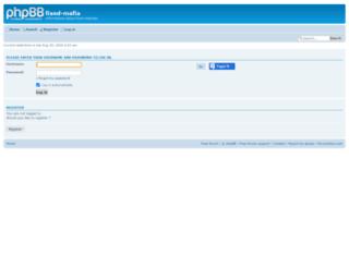 fixed-mafia.forumotion.net screenshot