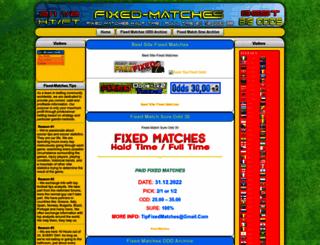 fixed-matches.tips screenshot