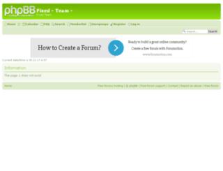 fixed-team.2forum.biz screenshot