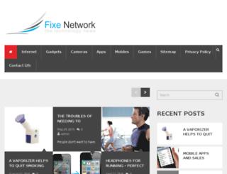 fixenetwork.com screenshot