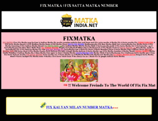 fixfixmatkanumber.com screenshot